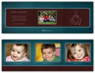 nativity trifold